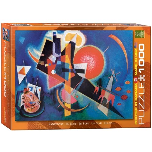 Eg60001897 - Eurographics Puzzle 1000 Pc - in Blue / Wassily Kandinsky