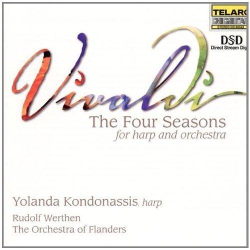 Rudolf Werthen and I Fiamminghi Yolanda Kondonassis - Vivaldi: the Four Seasons for Harp and Orchestra [CD]
