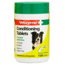 Vetzyme Dog Conditioning Tablets