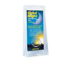 Good Night Anti-Snoring Ring Size Medium Easy To Use No Drugs Or Side Effects