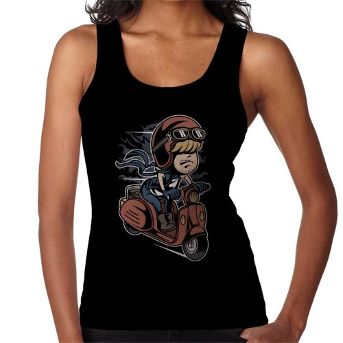 Scooter Rider Kid Women's Vest