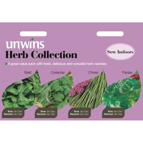 Unwins Pictorial Packet - Herb Collection - 1000 Seeds