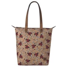 Ariat A770005008 Cruiser Matcher Tote with Roses Arrows - Tan
