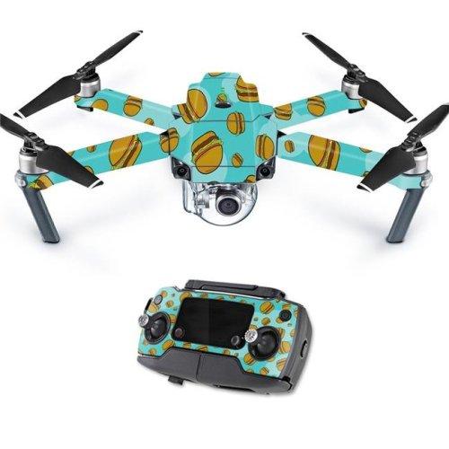 MightySkins DJMAVPRO-Burger Heaven Skin Decal Wrap for DJI Mavic Pro Quadcopter Drone Cover Sticker - Burger Heaven
