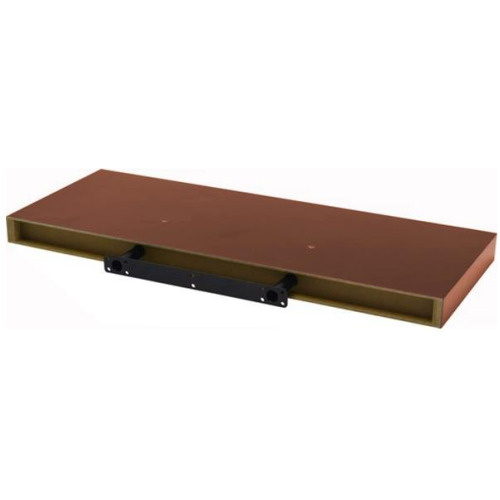 Floating Shelf 120cm Cherry Red Wood Effect Wooden