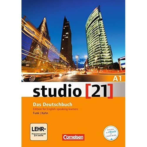Studio 21: Deutschbuch A1 mit DVD-Rom Edition for English-speaking learners