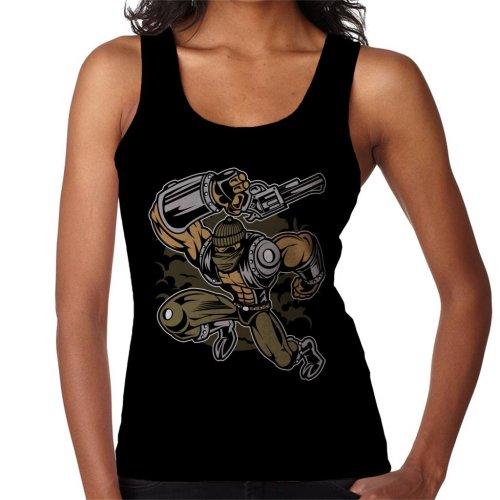 Cartoon Robber Women's Vest