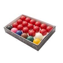 "Oypla Full Size Regulation 22 Snooker Billiard Ball Set 2 1/16"""