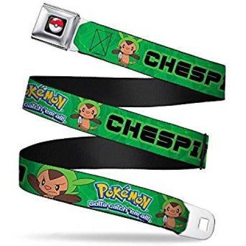 Seatbelt Belt - Pokemon - V.4 Adj 24-38' Mesh New pka-wpk092
