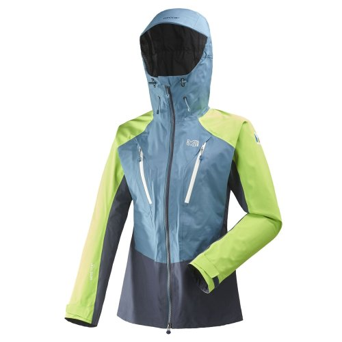 Millet Tril Icon Jacket Womens Blue/Green Outdoor Top Ladies Outerwear