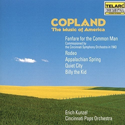 Aron Copland - Copland: the Music of America [CD]