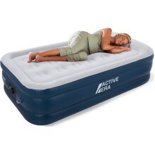 Active Era AirBed with a Built-in Electric Pump and Pillow- Premium Single Size