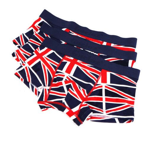 (M) 3PCS Mens Underwear Briefs Shorts Trunks Classic Sports Adults Underpants