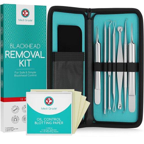 Medi Grade Blackhead Remover Tool Set of 7