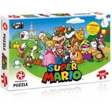 Winning Moves Mario and Friends 500-piece Jigsaw Puzzle 029476