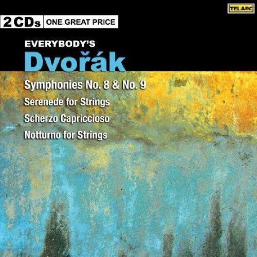 Cincinnati Symphony Orchestra - Everybodys Dvorak: Symphonies Nos 8 and 9, Serenade for Strings, Scherzo Capriccioso, Notturno for Strings [CD]