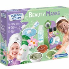 Clementoni Natural Beauty Masks Experiment Kit - Science & Play - Ages 8 Years +