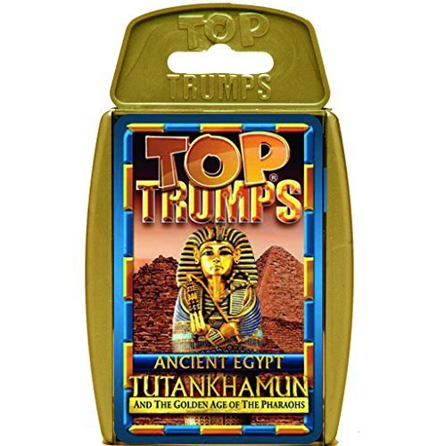 Ancient Egypt Top Trumps Card Game Educational Card Games