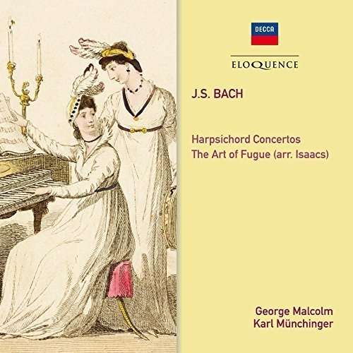George Malcolm Etc - Bach: the Art of Fugue; Harpsichord Concertos Nos. 1 and 2 [CD]