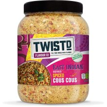 Twistd East Indian Inspired Mild Spicy Flavour Spiced Cous Cous 1.5kg