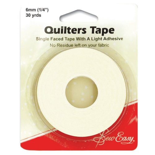 Sew Easy Quilter's Tape 27m x 6mm