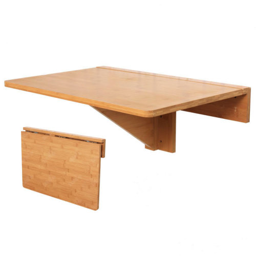 Sobuy Fwt031 N Bamboo Folding Wall Mounted Drop Leaf Table Desk Kitchen Dining Table 60x40cm On Onbuy