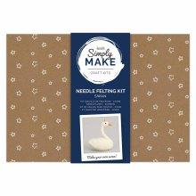 Simply Make Needle Felting Kit - Swan