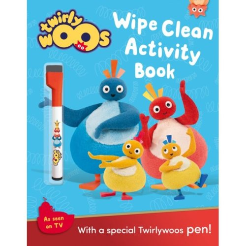 Wipe Clean Activity Book (Twirlywoos) (Paperback)
