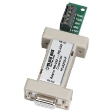 Black Box IC1620A-F serial converter/repeater/isolator RS-232 RS-485 White