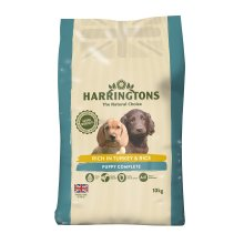 Harringtons Puppy Food Complete Rich In Turkey and Rice 10 Kg
