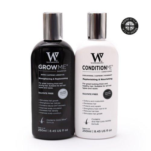 Watermans Hair Growth Shampoo & Conditioner Set