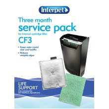 Interpet Internal Cartridge Filter Cf3 Three Month Service Kit