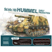 Dragon 7627 Sd.kfz 165 Hummel Tank Early Production 1:72 Plastic Model Kit
