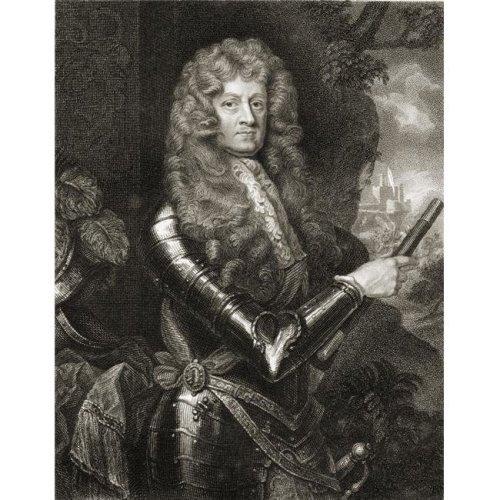 James Butler 12th Earl & 1St Duke of Ormonde 1610-1688 Irish Statesman Poster Print, Large - 26 x 34