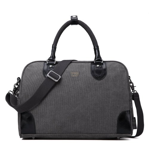 Troop London Classic Small Canvas Holdall | Buy Canvas Holdall Bag | Canvas Holdall Bag Women | shoulder bags for women