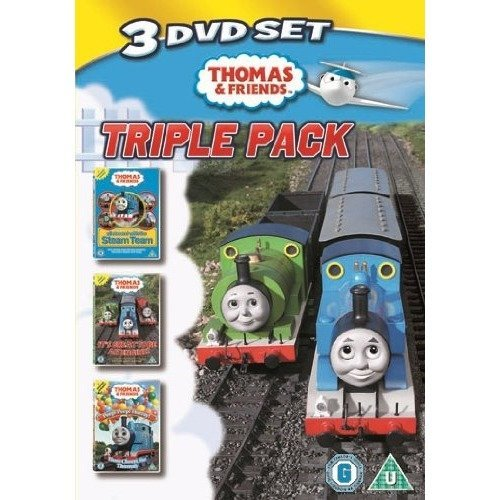 Thomas & Friends - All Aboard With The Steam Team / Its Great To Be An Engine / Peep Peep DVD [2009]