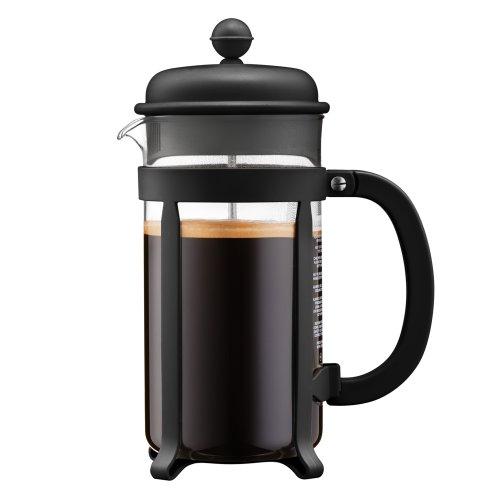 Bodum Java 1.0L Cafetiere Coffee Maker, Black