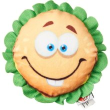 Ethical 54422 Fun Food Cheese Burger Plush Toy - Assorted Color, Small - Pack of 48