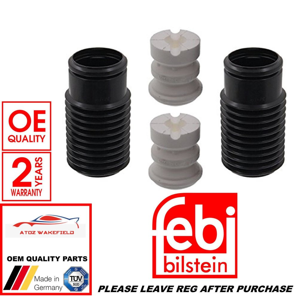 FOR FORD FIESTA FUSION REAR SHOCK ABSORBER DUST COVER BUMP STOP KIT OE QUALITY