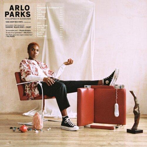 "Arlo Parks ""Collapsed In Sunbeams"" 180g Deep Red Vinyl LP Record"