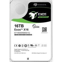 """Seagate 16TB Exos X16 7200 rpm SATA III 3.5"""" Internal HDD"""