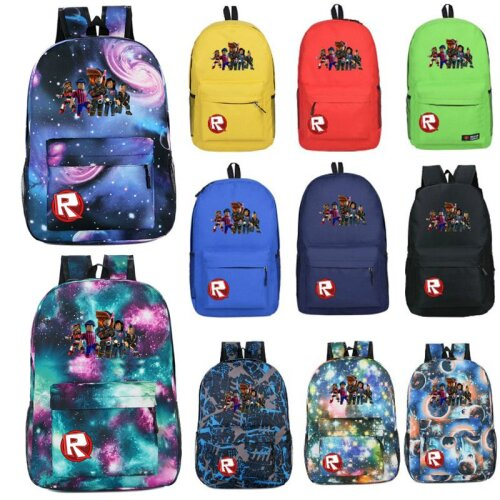 Game Roblox Backpack Universe Planet School Bag
