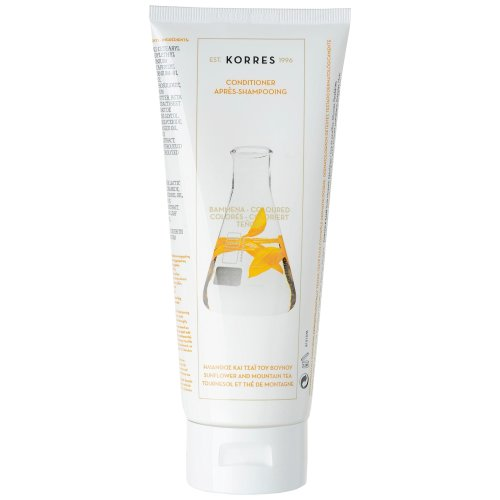 KORRES Conditioner Sunflower and Mountain Tea for Coloured Hair 200 ml