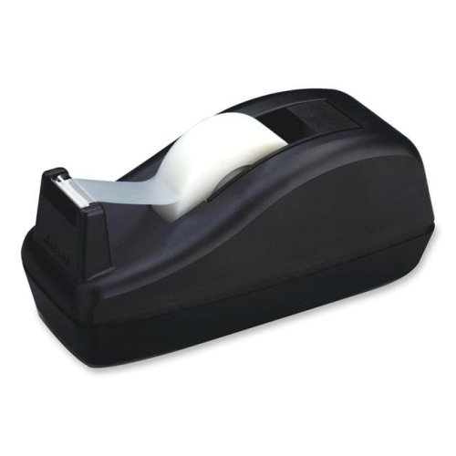 Office Products  Deluxe Desktop Tape Dispenser, 1In. Tapes- Black