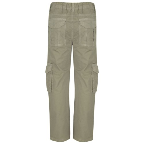 Kids Boys Youth BDU Ranger 6-Pocket Combat Cargo Trousers Fashion Pants 5-13 Yrs