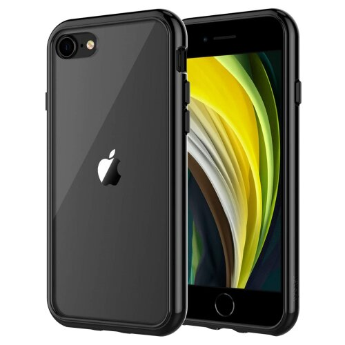 Generic Shock-Absorption Bumper Case for Apple iPhone SE 2020 - Black