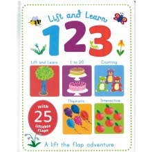 Lift and Learn 123 Counting Book - A Lift The Flap Adventure