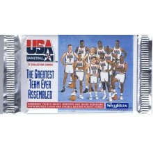 SkyBox 1992 USA Basketball The Greatest Team Ever Assembled Trading Cards of 8 per Pack