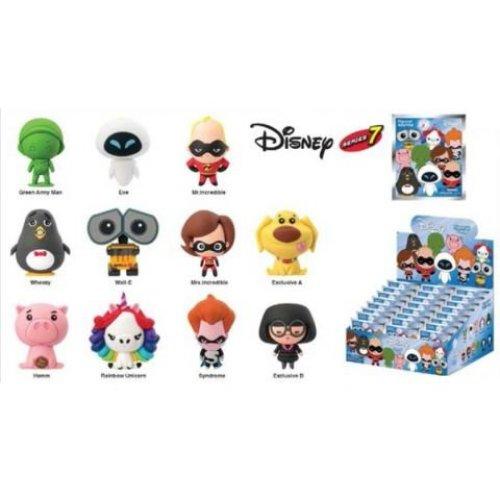 Key Chain - Disney - Series 8 3D PVC Foam Collectible Blind-Box New Toys 85100