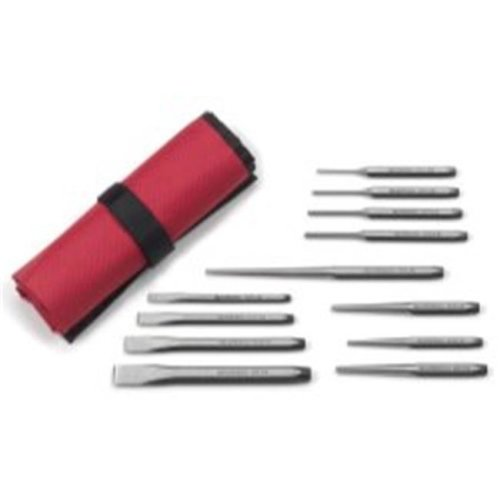 12 PIece Punch and Chisel Set